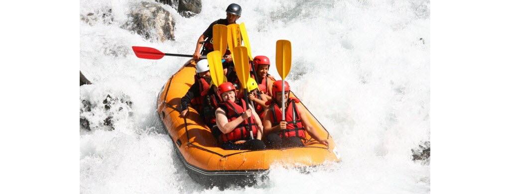 Rafting: le plein de sensations!
