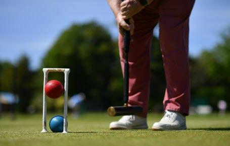 Croquet : jouer à bonne distance
