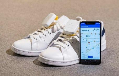 Un GPS aux pieds