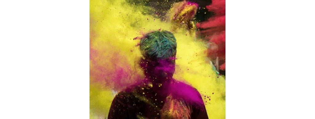 Holi, un festival haut en couleur