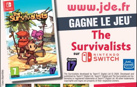 """Les gagnants du jeu """"The Survivalists"""""""