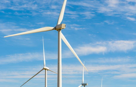 Vent contraire pour les éoliennes