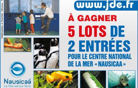 """Gagnez des entrées pour le """"Centre national de la mer Nausicaa"""""""