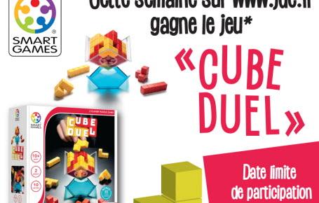 """Les gagnants du jeu """"Cube Duel"""""""