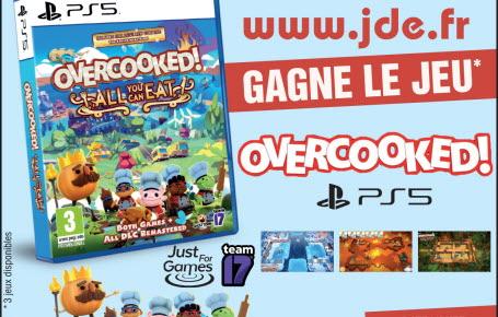 "Gagne le jeu vidéo ""Overcooked"""
