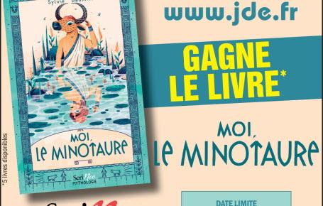 """Les gagnants du livre """"Moi, le Minotaure"""""""