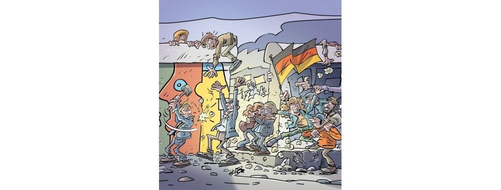 Il y a 30 ans, l'Allemagne réunifiée