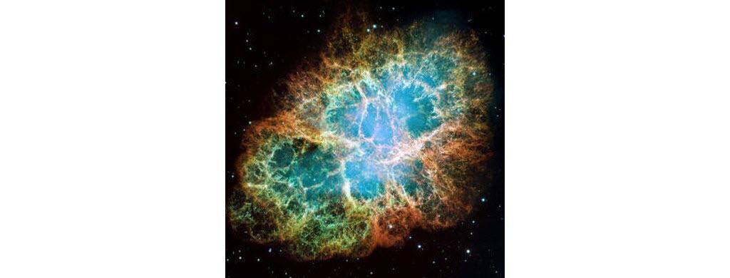 La supernova SN1054, appelée nébuleuse du crabe. (NASA/ESA)
