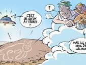 Qui a tracé le chat de Nazca?