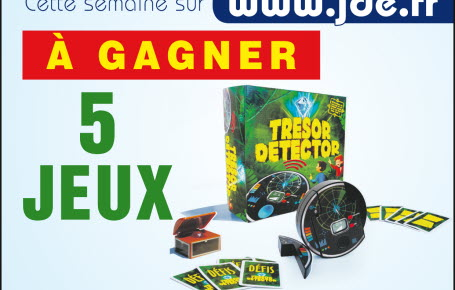 "Gagnez des jeux ""Tresor Detector"""