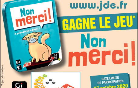 "Les gagants du jeu ""Non merci !"""