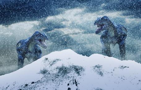 Des dinos au pôle Nord