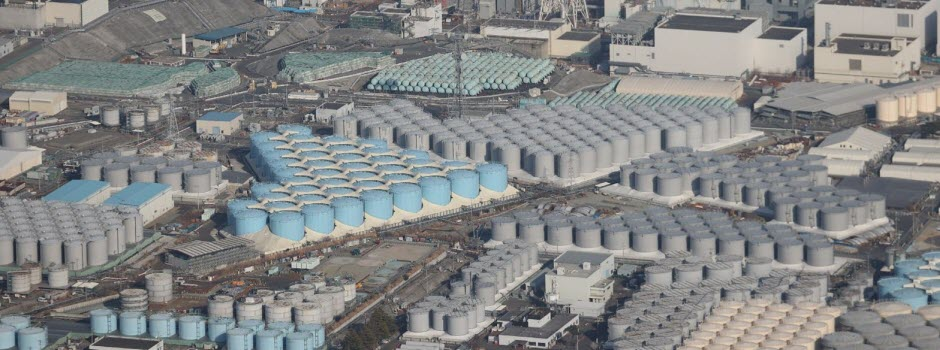 De l'eau contaminée rejetée dans l'océan