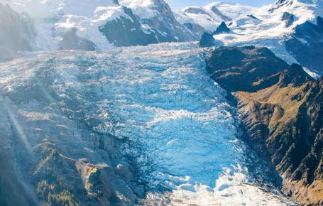 Le trésor du glacier du mont Blanc