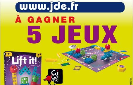 """Gagnez des jeux """"Lift It"""""""