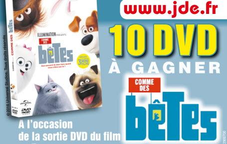 """Gagnez des DVD """"Comme des bêtes"""""""