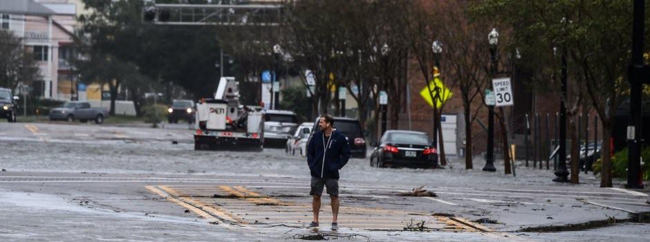 Ouragans: embouteillage dans l'Atlantique