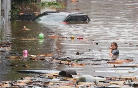 L'Europe dévastée par les eaux