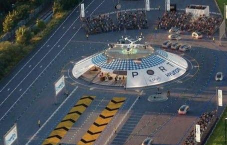 Un aéroport pour voitures volantes