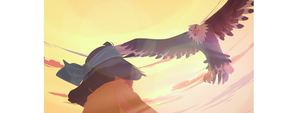 La vision de Grand aigle. ©Bac Films