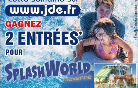 """Gagnez des entrées pour """"Splashworld Provence"""""""