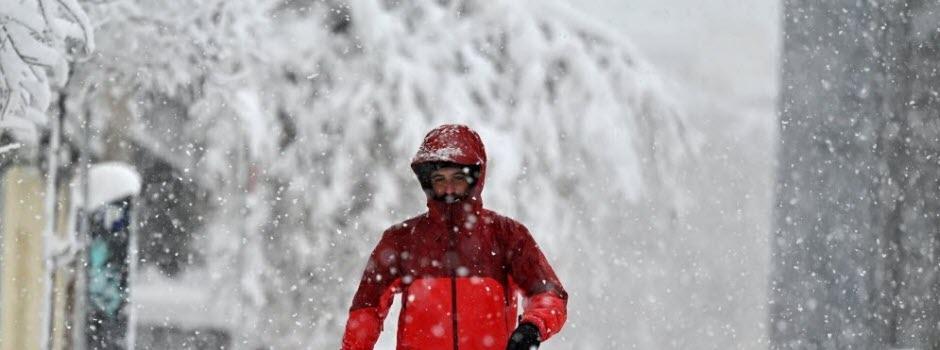 Espagne: neige et froid