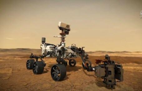 Un morceau de Mars en boîte