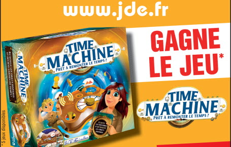 """Les gagnants du jeu """"Time Machine"""""""