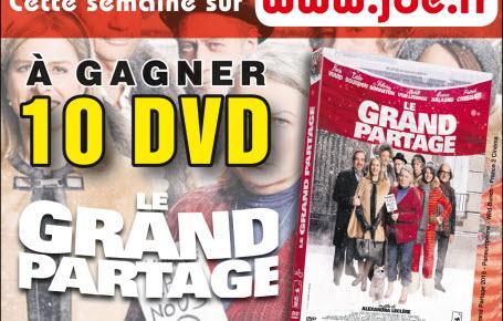 """Gagnez des DVD """"Le Grand Partage"""""""