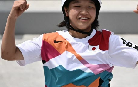 JO de Tokyo : la plus jeune championne !