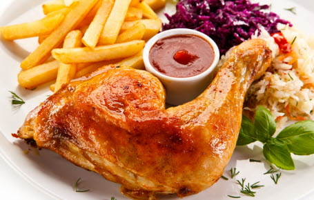 Royaume-Uni : privés de poulet