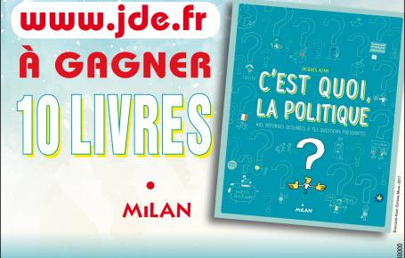 """Gagnez des livres """"C'est quoi la politique ?"""""""