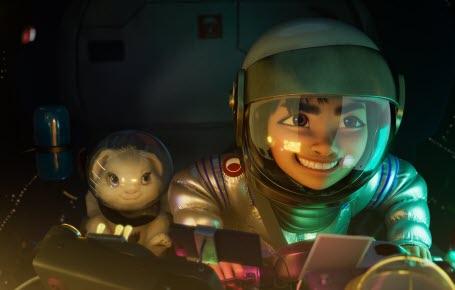 Fei Fei part pour la Lune !
