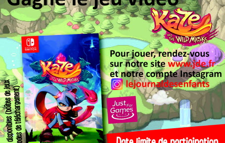 "Les gagnants du jeu ""Kaze and the Wild Masks"""