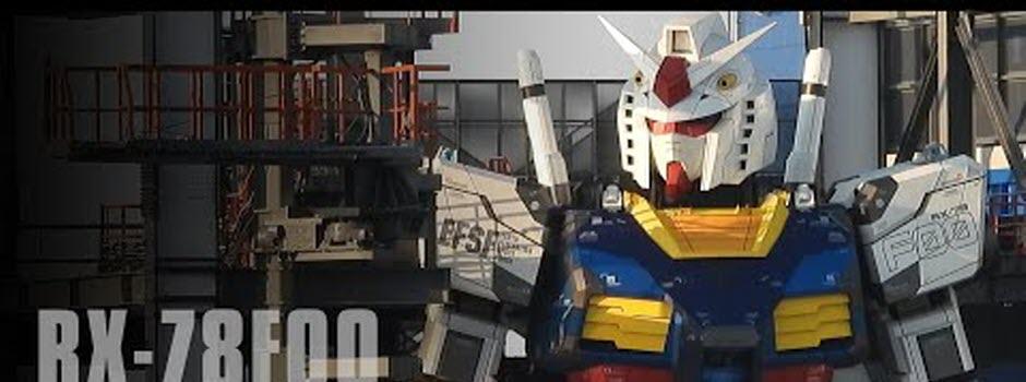 Gundam, le robot géant