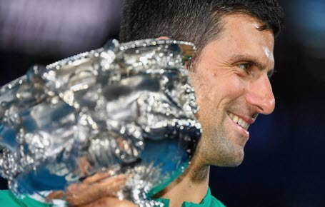 Et de 9 pour Djokovic