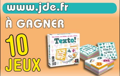 """Gagnez des jeux """"Texto"""""""