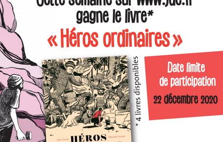 """Les gagnants du jeu """"Héros ordinaires"""""""