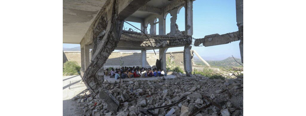 Au Yémen, plus de 2500 écoles étaient hors d'usage en 2019.