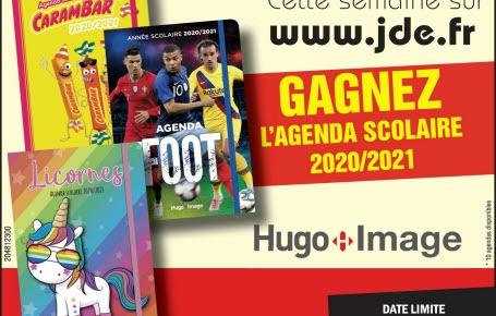 Les gagnants pour l'agenda scolaire 2020-2021 Hugo Image