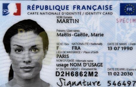 Pourquoi changer la carte d'identité?