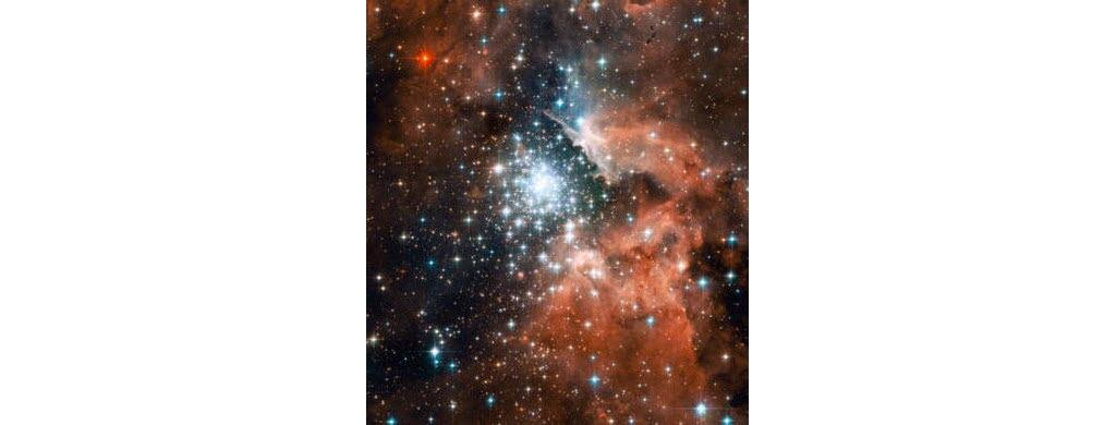 La nébuleuse prise par Hubble le 29 décembre 2005. (NASA/ESA)