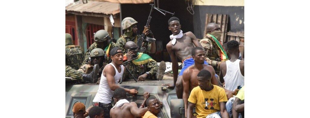 En Guinée : président renversé
