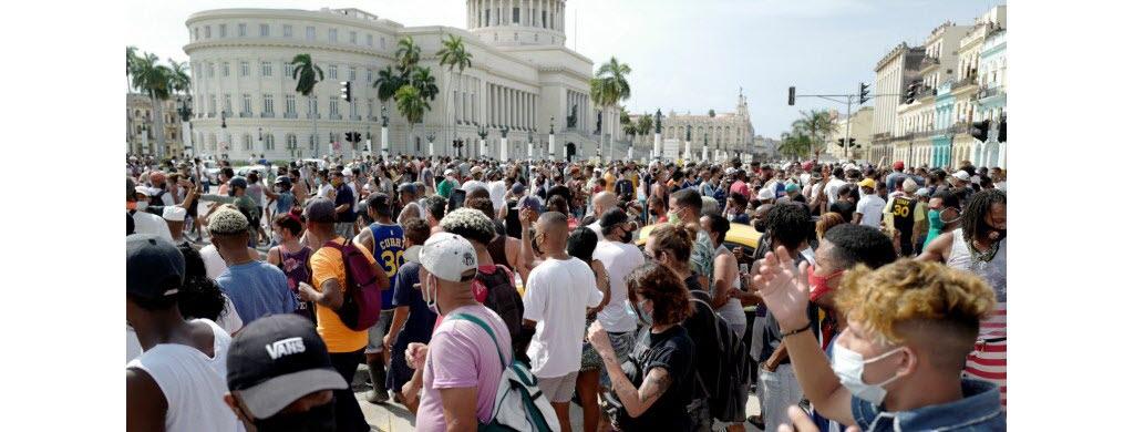 Vent de colère à Cuba