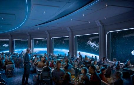 Un restaurant dans les étoiles