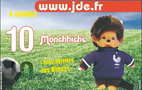 """Gagnez des peluches """"Monchhichi FFF"""""""