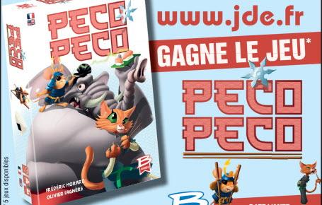 """Les gagnants du jeu """"Peco Peco"""""""
