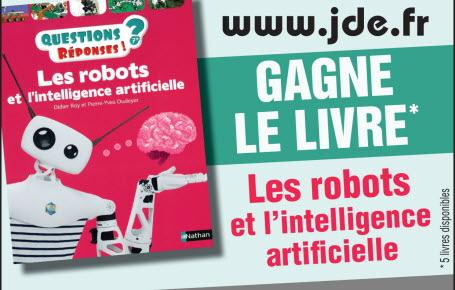 """Les gagnants du livre """"Les robots et l'intelligence artificielle"""""""