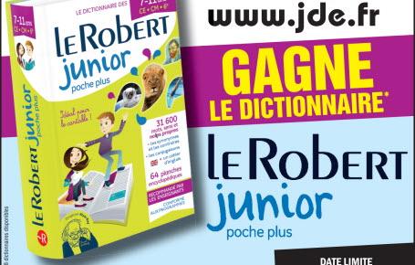 """Les gagnants du dictionnaire """"Le Robert junior poche plus"""""""