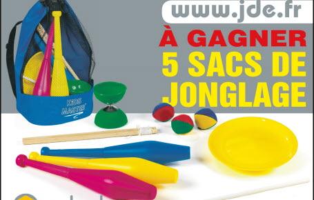 Gagnez des sacs de jonglage